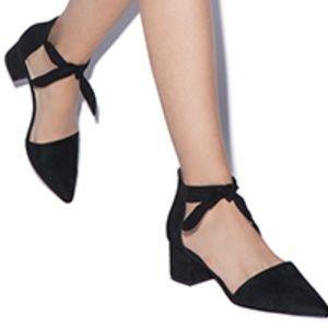 NWOT Shoe Dazzle Fallon Chunky Low Heel Size 5.5